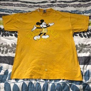 Vintage Mickey Disney World Tee